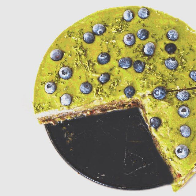 avokádový koláč